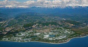 the resort city of sochi